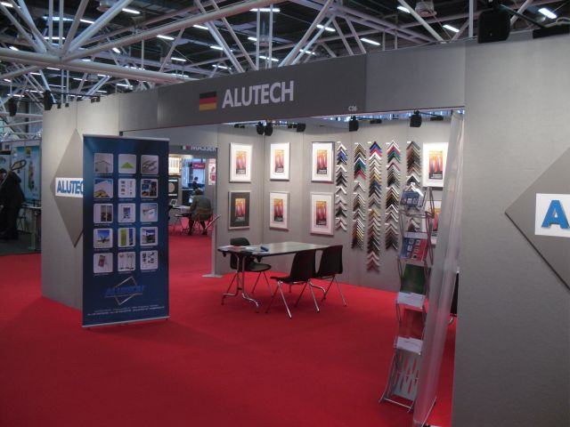 ALUTECH Messestand in Bologna
