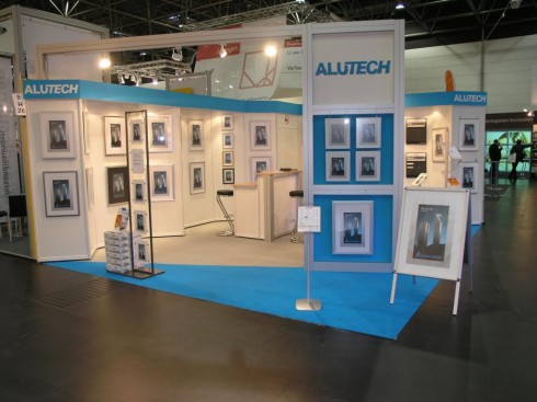 Alutech Messestand in Düsseldorf 2008